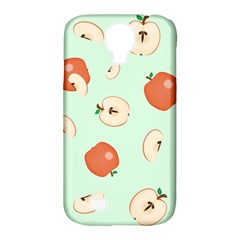 Apple Fruit Background Food Samsung Galaxy S4 Classic Hardshell Case (pc+silicone)