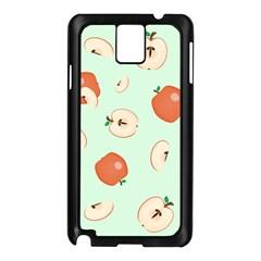 Apple Fruit Background Food Samsung Galaxy Note 3 N9005 Case (black) by Nexatart