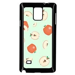 Apple Fruit Background Food Samsung Galaxy Note 4 Case (black) by Nexatart
