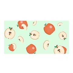 Apple Fruit Background Food Satin Wrap