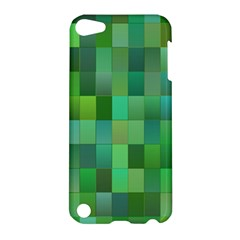 Green Blocks Pattern Backdrop Apple Ipod Touch 5 Hardshell Case