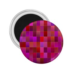 Shapes Abstract Pink 2 25  Magnets by Nexatart