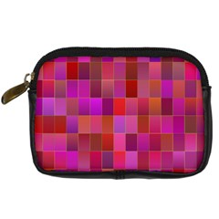 Shapes Abstract Pink Digital Camera Cases