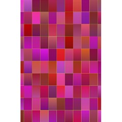Shapes Abstract Pink 5 5  X 8 5  Notebooks by Nexatart