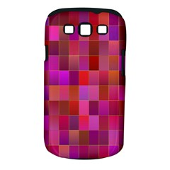 Shapes Abstract Pink Samsung Galaxy S Iii Classic Hardshell Case (pc+silicone) by Nexatart