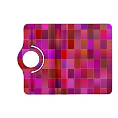 Shapes Abstract Pink Kindle Fire Hd (2013) Flip 360 Case by Nexatart