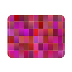 Shapes Abstract Pink Double Sided Flano Blanket (mini)