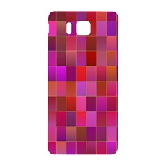 Shapes Abstract Pink Samsung Galaxy Alpha Hardshell Back Case by Nexatart