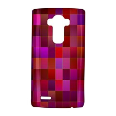 Shapes Abstract Pink Lg G4 Hardshell Case by Nexatart