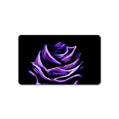Rose Flower Design Nature Blossom Magnet (name Card) by Nexatart