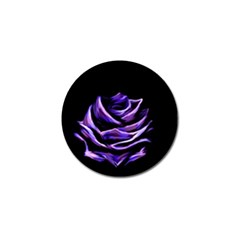 Rose Flower Design Nature Blossom Golf Ball Marker (10 Pack) by Nexatart