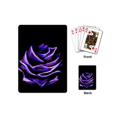 Rose Flower Design Nature Blossom Playing Cards (mini)  by Nexatart