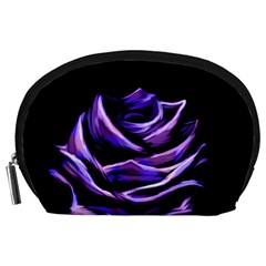 Rose Flower Design Nature Blossom Accessory Pouches (large)