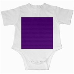 Pattern Violet Purple Background Infant Creepers