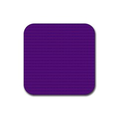Pattern Violet Purple Background Rubber Square Coaster (4 Pack)  by Nexatart