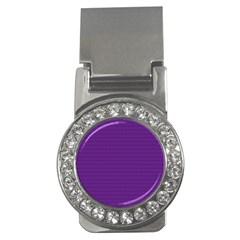Pattern Violet Purple Background Money Clips (cz)  by Nexatart