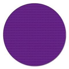 Pattern Violet Purple Background Magnet 5  (round) by Nexatart