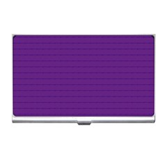 Pattern Violet Purple Background Business Card Holders by Nexatart