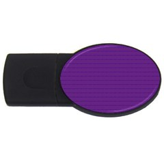 Pattern Violet Purple Background Usb Flash Drive Oval (4 Gb) by Nexatart