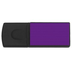 Pattern Violet Purple Background Usb Flash Drive Rectangular (4 Gb)