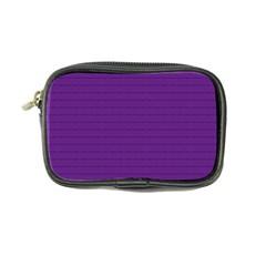 Pattern Violet Purple Background Coin Purse by Nexatart