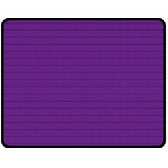 Pattern Violet Purple Background Fleece Blanket (medium)  by Nexatart