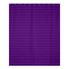 Pattern Violet Purple Background Shower Curtain 60  X 72  (medium)  by Nexatart