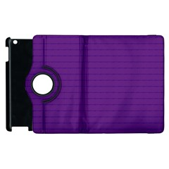 Pattern Violet Purple Background Apple Ipad 2 Flip 360 Case by Nexatart