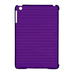 Pattern Violet Purple Background Apple Ipad Mini Hardshell Case (compatible With Smart Cover) by Nexatart