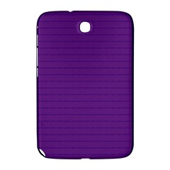 Pattern Violet Purple Background Samsung Galaxy Note 8 0 N5100 Hardshell Case  by Nexatart