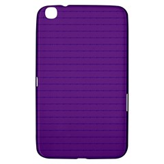 Pattern Violet Purple Background Samsung Galaxy Tab 3 (8 ) T3100 Hardshell Case