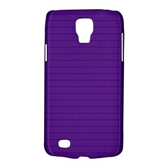 Pattern Violet Purple Background Galaxy S4 Active by Nexatart