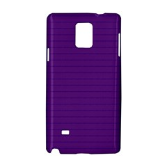 Pattern Violet Purple Background Samsung Galaxy Note 4 Hardshell Case by Nexatart
