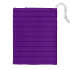 Pattern Violet Purple Background Drawstring Pouches (xxl) by Nexatart