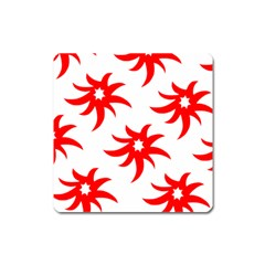 Star Figure Form Pattern Structure Square Magnet