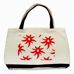 Star Figure Form Pattern Structure Basic Tote Bag by Nexatart