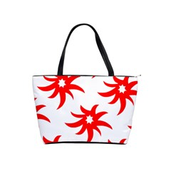 Star Figure Form Pattern Structure Shoulder Handbags by Nexatart