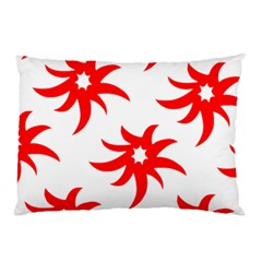 Star Figure Form Pattern Structure Pillow Case (two Sides) by Nexatart
