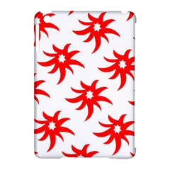 Star Figure Form Pattern Structure Apple Ipad Mini Hardshell Case (compatible With Smart Cover) by Nexatart