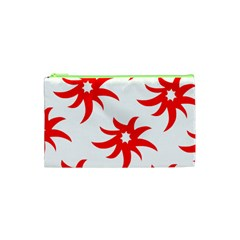 Star Figure Form Pattern Structure Cosmetic Bag (xs)