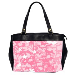 Plant Flowers Bird Spring Office Handbags (2 Sides)  by Nexatart