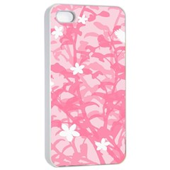 Plant Flowers Bird Spring Apple Iphone 4/4s Seamless Case (white)