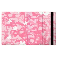 Plant Flowers Bird Spring Apple Ipad 3/4 Flip Case