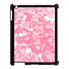 Plant Flowers Bird Spring Apple Ipad 3/4 Case (black) by Nexatart