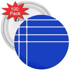 Stripes Pattern Template Texture 3  Buttons (100 Pack)  by Nexatart