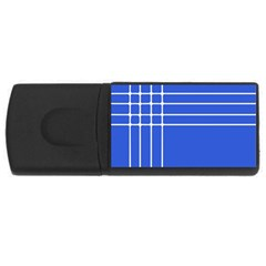 Stripes Pattern Template Texture Usb Flash Drive Rectangular (4 Gb) by Nexatart