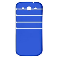 Stripes Pattern Template Texture Samsung Galaxy S3 S Iii Classic Hardshell Back Case by Nexatart