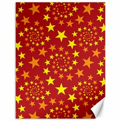 Star Stars Pattern Design Canvas 12  x 16