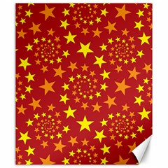 Star Stars Pattern Design Canvas 20  X 24