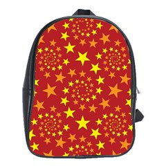 Star Stars Pattern Design School Bags(large)